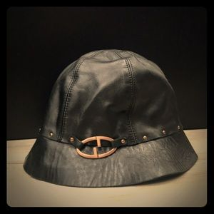Authentic Tom Ford For Gucci Italian Leather hat.